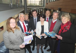 Pictured at the Education Conference at NUI Galway l-r: Dr Emer Smyth, Head of Social Research ESRI; John Coolahan, Emeritus Professor NUI Maynooth; Virginia O'Mahony, Assistant Director IPPN and member of Education Matters Yearbook Advisory Board; Dr Tony Hall, School of Education NUI Galway and Editor Education Matters Yearbook; Dr Fidelma Healy Eames, Senator and conference organiser; Stiofán Ó Cualáin, Acting Principal and member of Education Matters Yearbook Advisory Board; Pasi Sahlberg, Finnish educator and scholar; Dr Mary Fleming, Head School of Education NUI Galway.