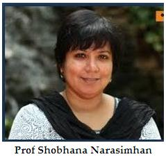 Shobhana Narasimhan from the Jawaharlal Nehru Centre for Advanced Scientific Research, Bengaluru.