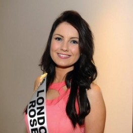 Saoirse Faughnan, second level teacher and London Rose 2014, currently working in London.